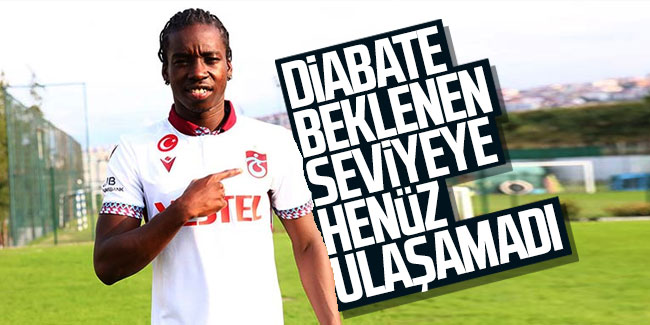 Trabzonspor'da Diabate'ye özel program