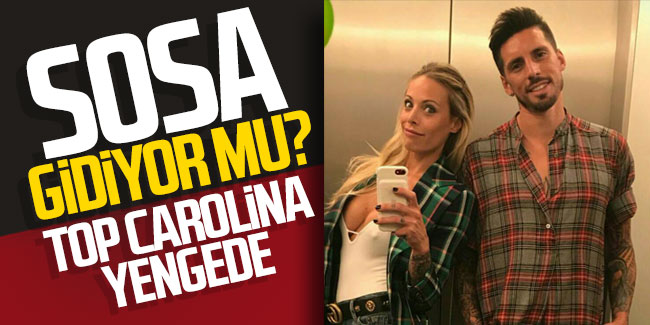 Sosa gidiyor mu? Top Carolina yengede