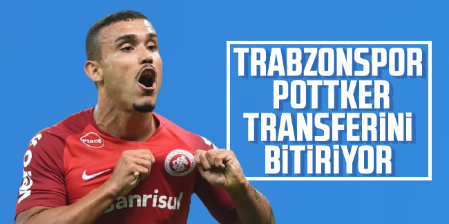 Trabzonspor, William Pottker transferini bitiriyor