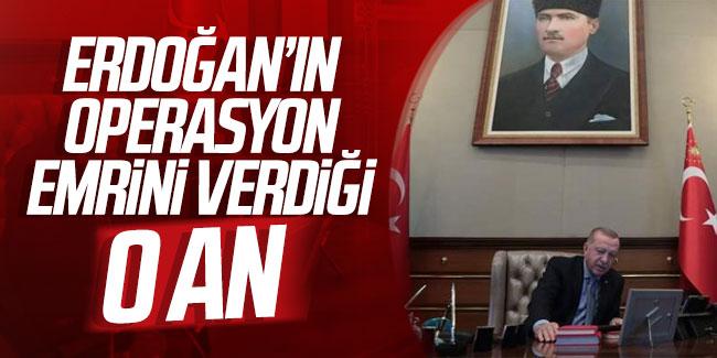 erdoğan'ın emir verdiği o an ile ilgili görsel sonucu